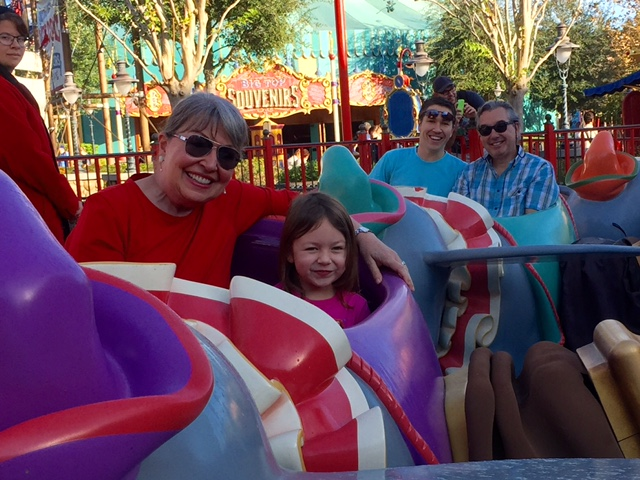 What do you say?  Another Dumbo ride?