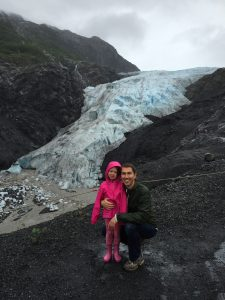 My strong (and cute) glacier hikers!
