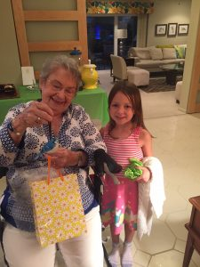 We didn't want to forget about Mammaw's birthday, which is coming up later this month! Natalie picked out a blue jay since Mammaw loves birds.