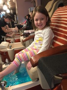 Now I'm 5 - time for my pre-bday pedi!
