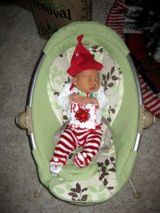 Newborn - everyone's favorite Christmas present in 2010!